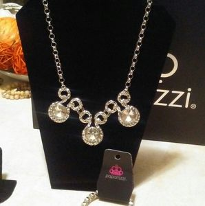 Paparazzi Set of 3 earrings,necklace and bracelet